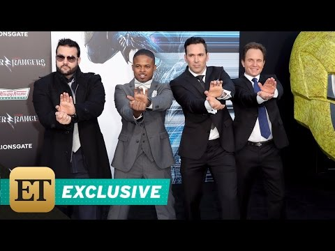 The Original 'Mighty Morphin Power Rangers' Cast Reunites for The First Time Since 1995