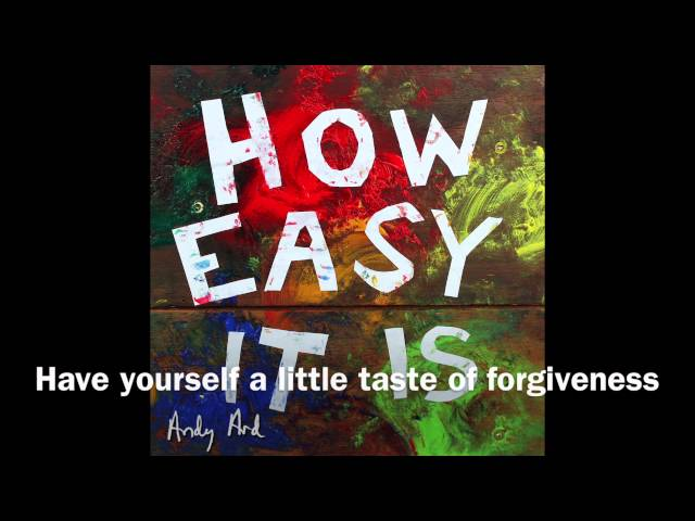 Andy Ard - How Easy It Is (lyric video)