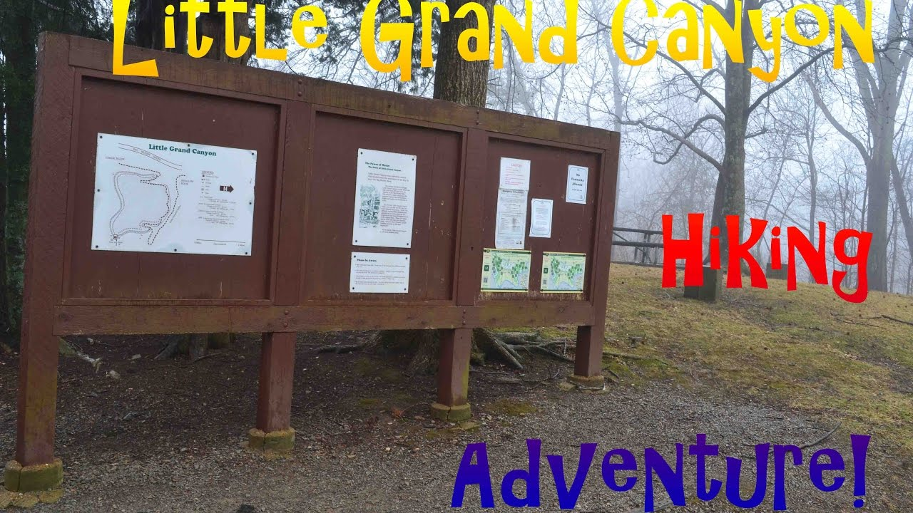 Hiking Little Grand Canyon in the Shawnee National Forest