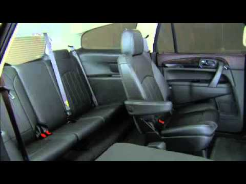 2015 Buick Enclave How To Fold Seats - YouTube