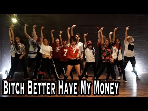 """BITCH BETTER HAVE MY MONEY"" - Rihanna Dance 