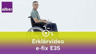 e-fix E35 - Der elektrische Zusatzantrieb für Rollstühle