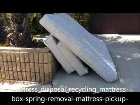 Mattress Disposal Mattress Removal Cost Edinburg McAllen TX  - RGV Household Services