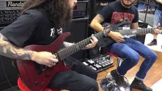 Randall Amplifiers 667 and SATAN NAMM 2014 Headcrusher