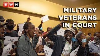 The military veterans involved in the hostage situation on 14 October 2021 appeared in the Pretoria Magistrates Court.