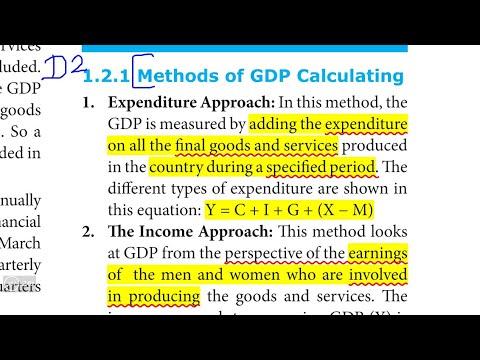 TN 10th Social ECONOMICS Unit-1| DETAIL Part-2| Qn.2| Calculating GDP |NEW SYLLABUS 2020