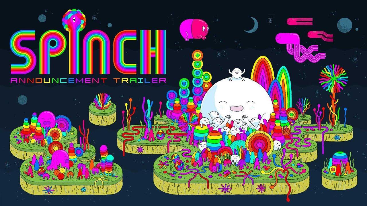 Το ψυχεδελικό platformer Spinch  έρχεται στο Switch