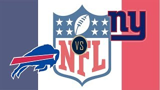New York Giants vs Buffalo Bills Play by Play and Reaction
