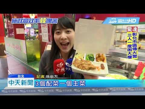 20190120中天新聞 韓國瑜新政好有感!發安心餐券 學生寒假不餓肚