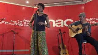 IMANY  . Silver lining ( clap your hands )  . Showcase Fnac Saint Lazare