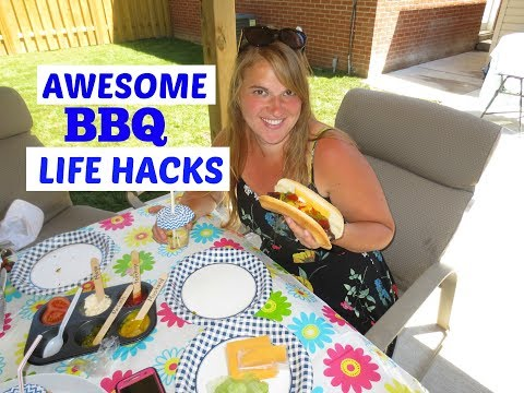 SUMMER HACKS for BBQ PARTIES