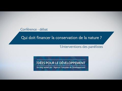 Qui doit financer la conservation de la nature ? (partie 1/3)