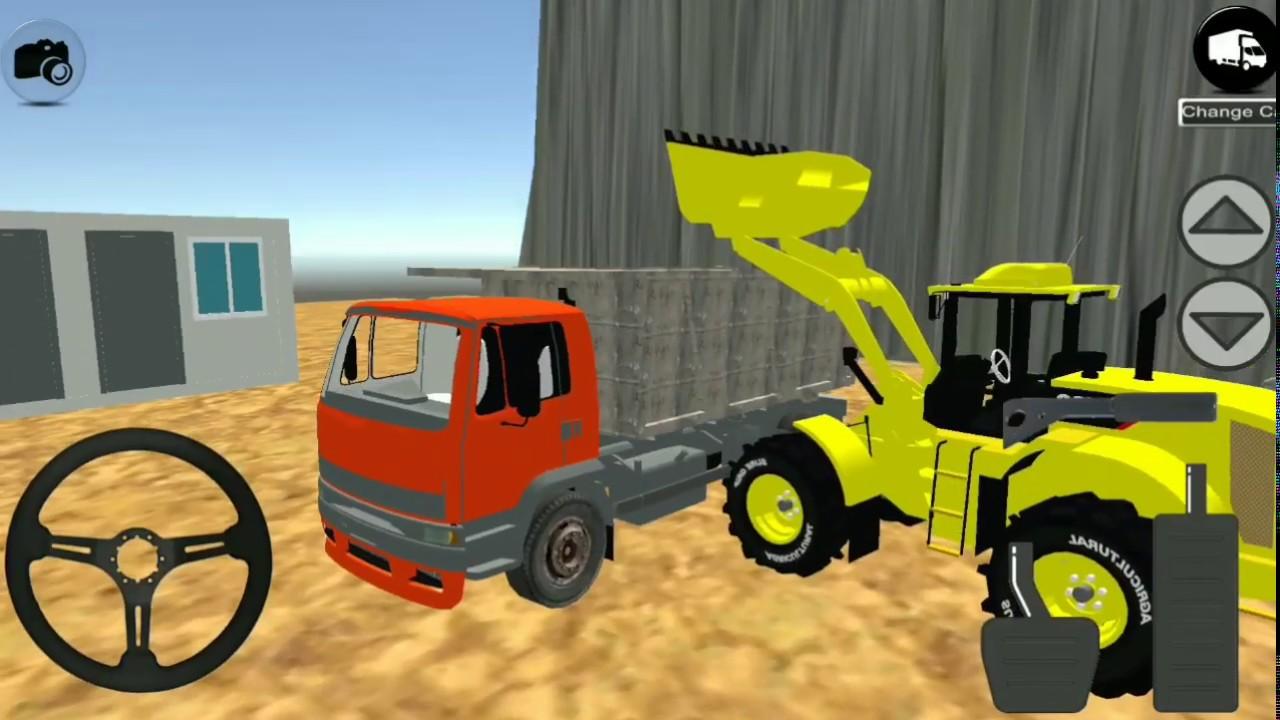 Stone Pit Dozer Simulator 2 Cocuklar Icin Kepce Oyun Videosu