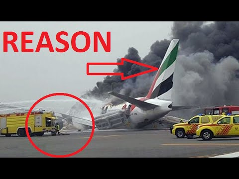 ► Emirates plane crash-lands at Dubai airport: Hundreds Rescued, One Firefighter Killed