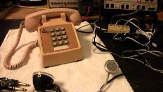 Western Electric Desk Touch tone 2514 Repair   www.A1-Telephone.com  618-235-6959