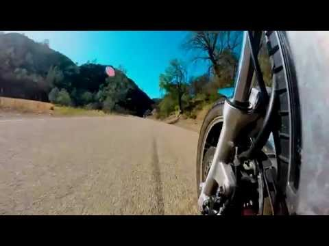 Motorcycle Ride through the Altamont Hills, California