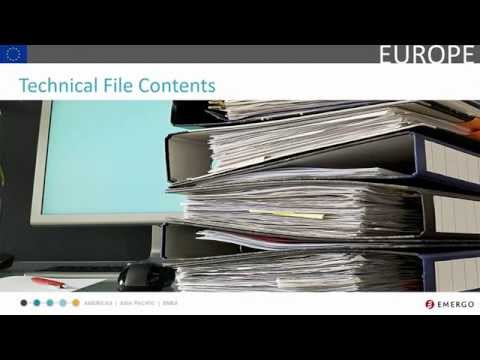 European Medical Device Registration Chapter 4 - Technical File