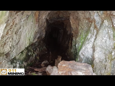 Old Mine Adit With Gold, Silver & Copper!