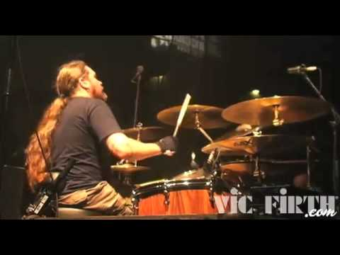 MESHUGGAH -   Tomas Haake - Drumming Footage - New England Metal Fest (OFFICIAL)