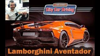 Lamborghini Aventador /Test Drive/ City Car Driving #9