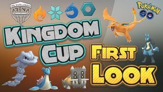 First Look at the Kingdom Cup | Pokemon Go PvP