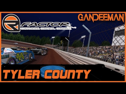 rFactor - DWD Super Late Models @ Tyler County Speedway