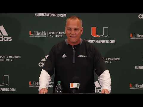 Mark Richt | National Signing Day Press Conference | 12.19.18