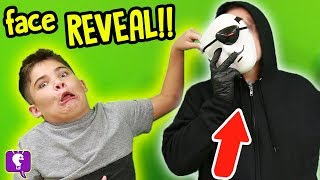FACE REVEAL of GameTrixster! Treasure Box Mystery Adventure by HobbyKidsTV