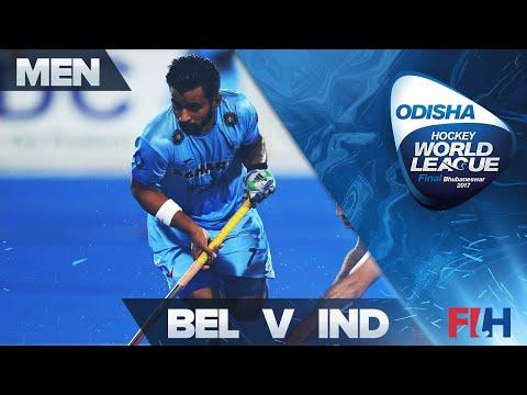 Belgium v India QF Highlights - Odisha Men's Hockey World League Final - Bhubaneswar, India
