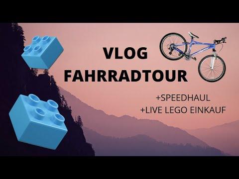 Fahrradtour in die BERGE! Mit Speedhaul und LEGO Einkauf I Vlog