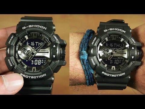 635c1b1b05e Casio G-shock GA-400GB-1A Unboxing - YouTube