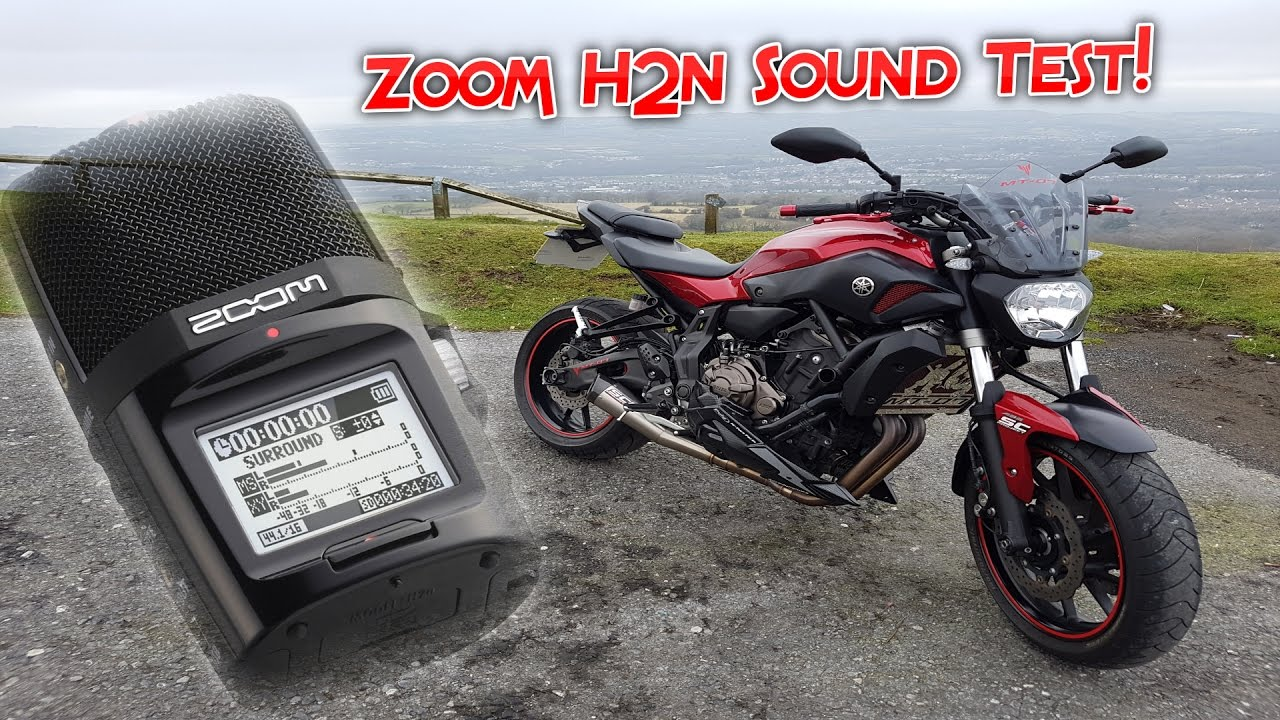 162 zoom h2n sound test yamaha mt 07 sc project youtube. Black Bedroom Furniture Sets. Home Design Ideas
