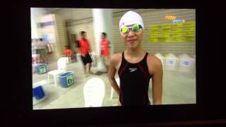 港島及九龍地域中學校際游泳比賽
