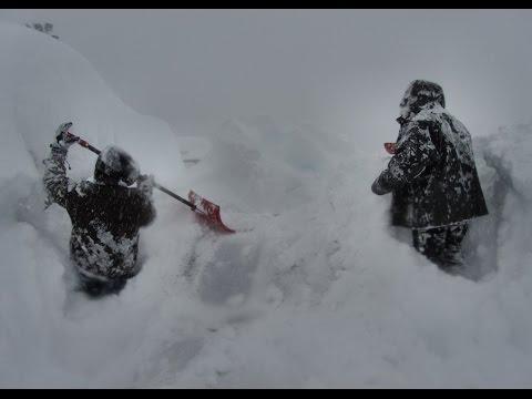 Kitimat 2015 Snow Storm at KMP
