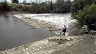 Sierra de la Ventana crecida rio Sauce Grande