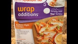 Lean Cuisine Wrap Additions: Buffalo-style Chicken Food Review