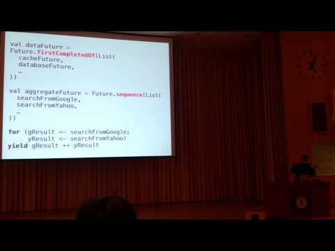OSDC 2013 Lightning talk - Scala 愛與恨