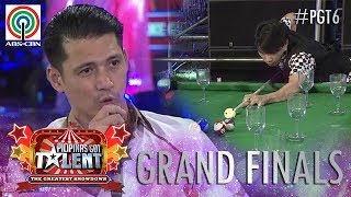 Pilipinas Got Talent 2018 Grand Finals: Jonacris Bandillo - Billiard Tricks