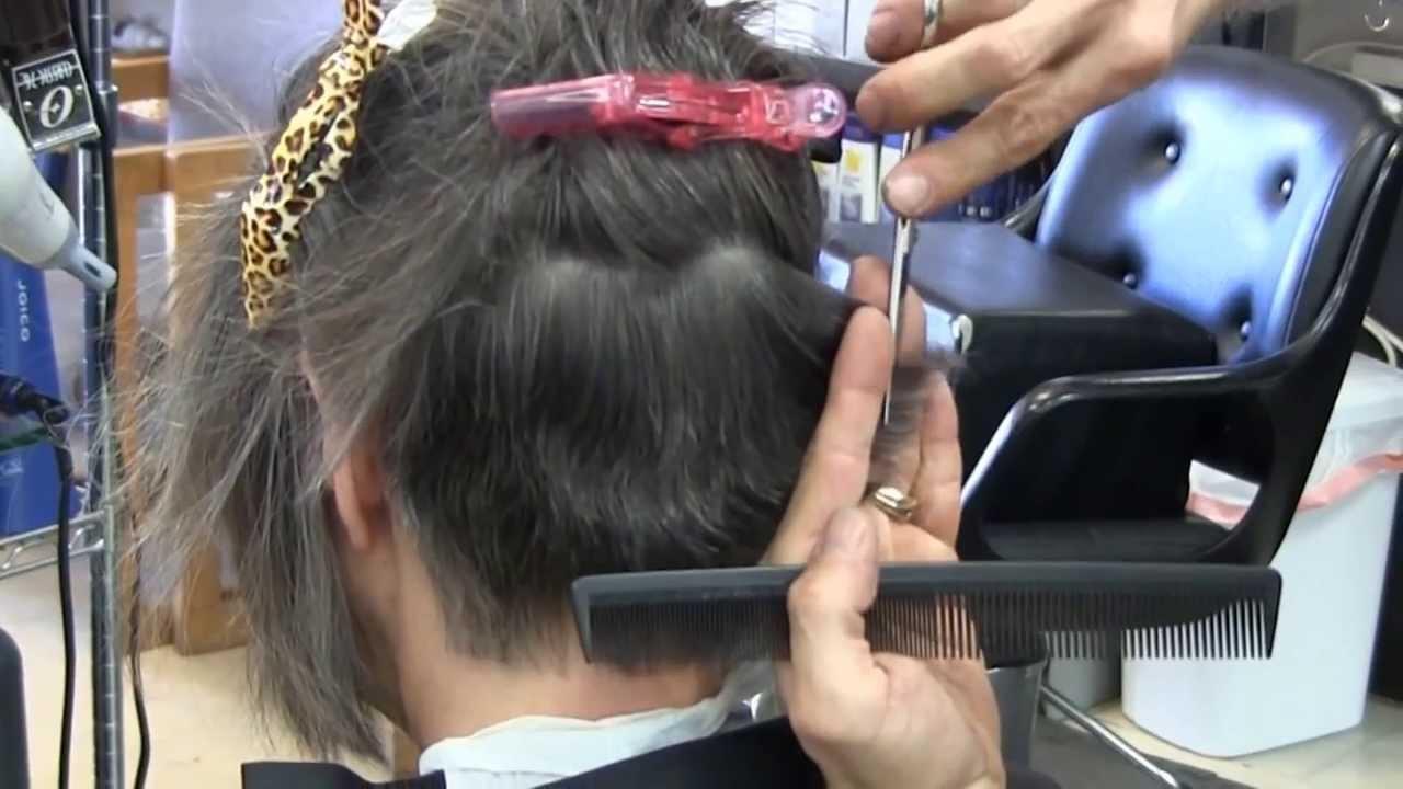 Super short womens haircut Womens Bob Graduated Shear