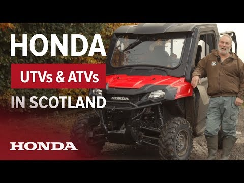 Honda Pioneer and ATVs in the Scottish Highlands