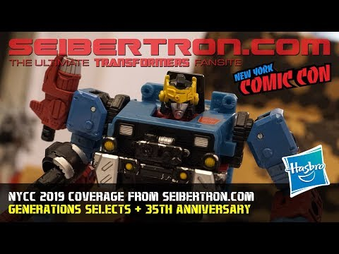Transformers Generations Selects and 35th Anniversary reveals at #NYCC2019 #NYCC