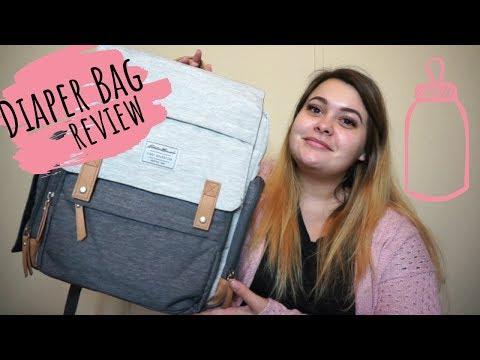 Diaper Bag Review | Eddie Bauer Backpack!