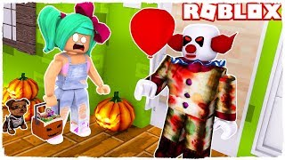 🤘 TIP OR TREATMENT IN THE EQUIPPED HOUSE 😱 - ROBLOX