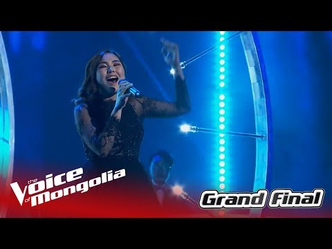 Enguun - 'Never enough' | Final | The Voice of Mongolia 2018
