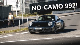 The NEW 2019 Porsche 992 Carrera driving around the NÜRBURGRING!