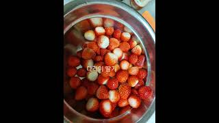 초초초간단  아침식사_다라이딸기