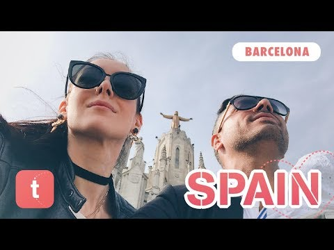 BARCELONA • SPAIN — TRAVELBOOK FAMILY VLOG ♥ Places to visit & Top Things to do
