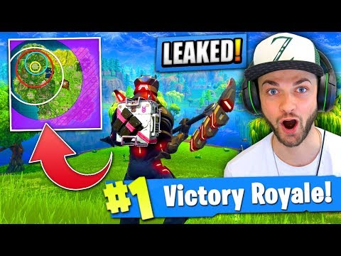 EPIC GAMES accidently *LEAKED* this in Fortnite: Battle Royale!