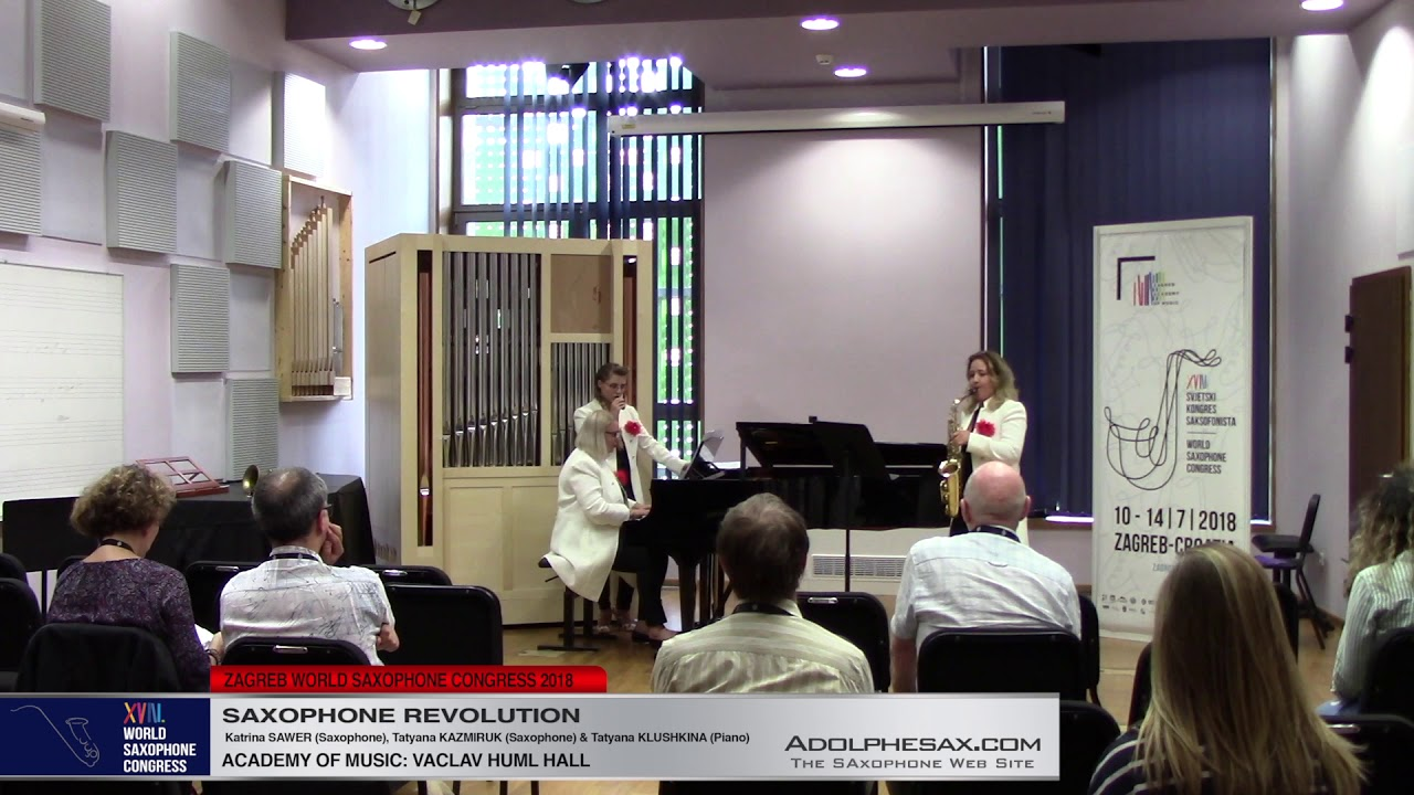 A Song of Abay by George Metaxa   Saxophone Revolution   XVIII World Sax Congress 2018 #adolphesax
