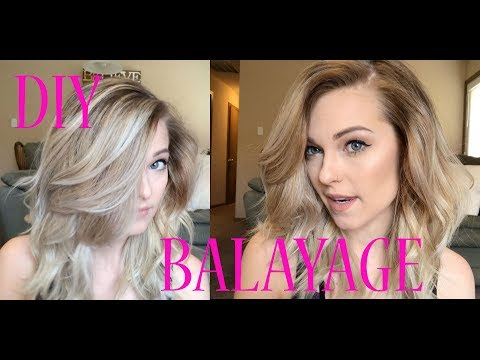 Using Ponytails To Create The Perfect Balayage